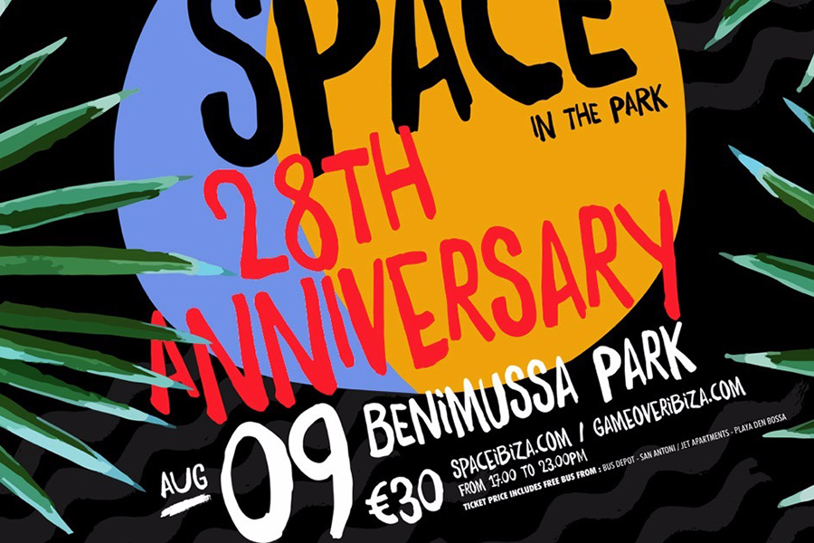 Space Will Return This August To Ibiza With Outdoors Party 'Space In The Park' (Video)