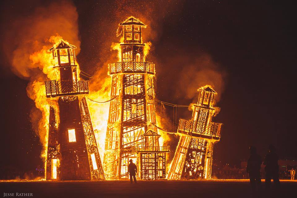Burning Man Festival Attendee Dies After Burn Incident