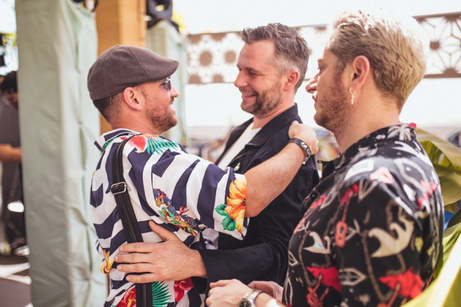 Davide Squilace, Martin Buttrich and Charles from Soul Clap