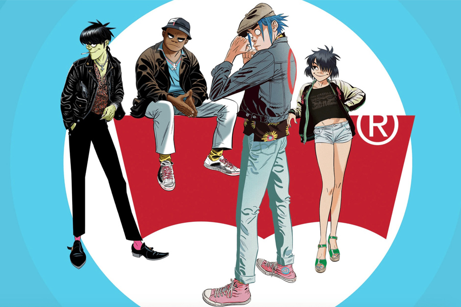 Gorillaz And Levi's Create A Customizable Clothes Line