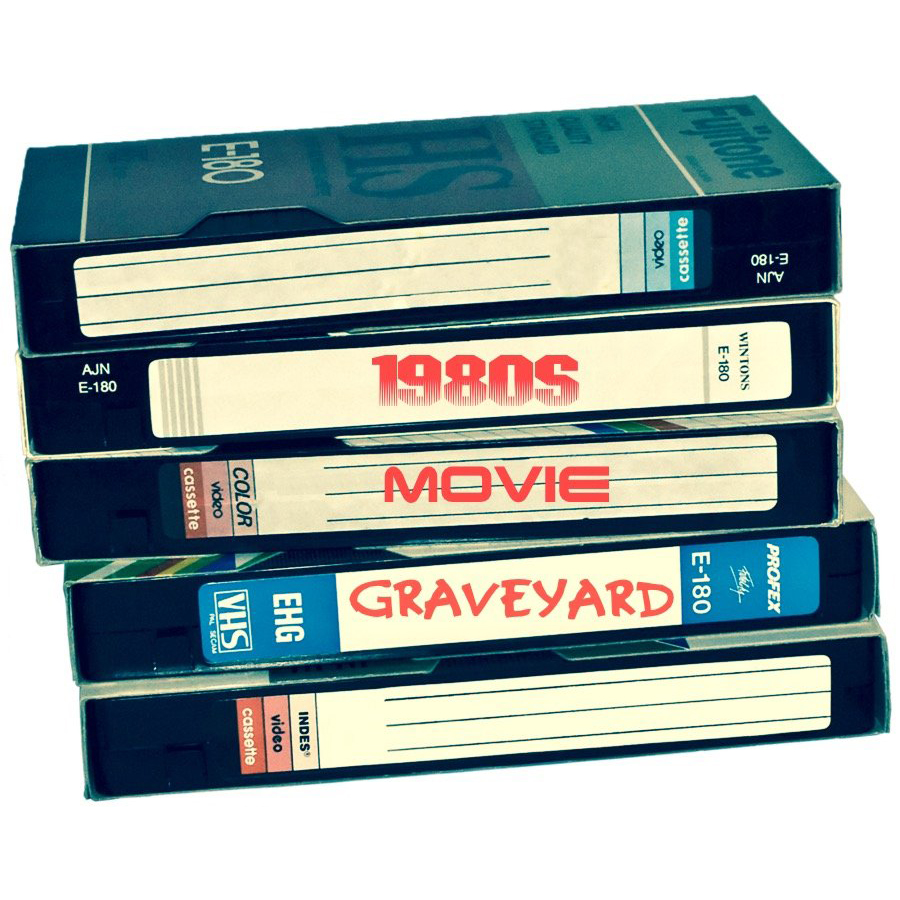 1980s Movie Graveyard Cover
