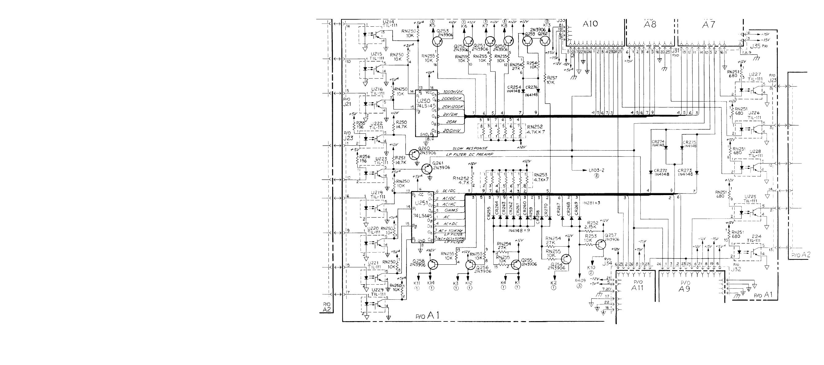 Figure Fo 6 Relay Switching Circuits A1 Schematic Diagram