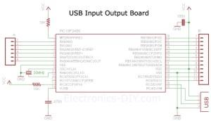USB IO Board PIC18F2455  PIC18F2550