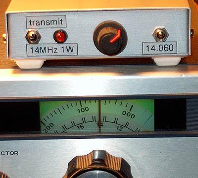 1 Watt QRP Power Transmitter