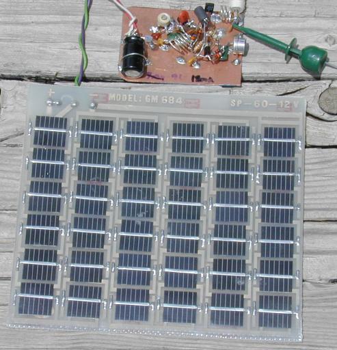 Solar Powered Long Range FM Transmitter