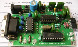 RS232 Serial Port PIC Programmer