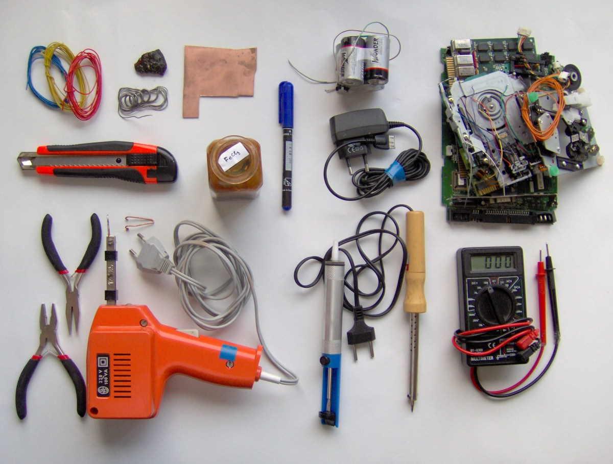 Electronics tools and material
