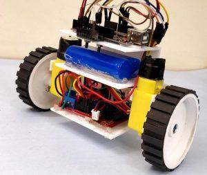 روبوت التوازن التلقائي