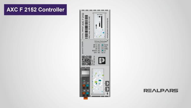 يوضح متحكم. AXC F 2152