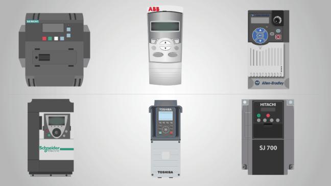 منتجات الـVFD من عمالقة شركات الأتمتة الصناعيّة