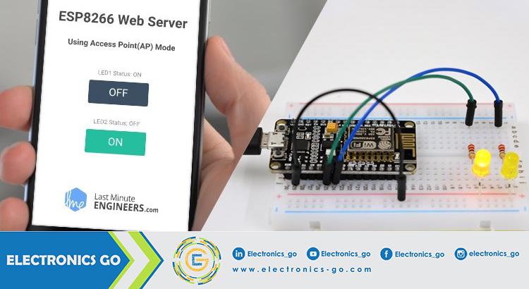 إنشاء مخدّم ويب باستخدام شريحة NodeMCU في البيئة التطويرية للأردوينو