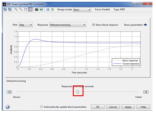 Tools That Can be Used in Control System Design: simulink auto tuning