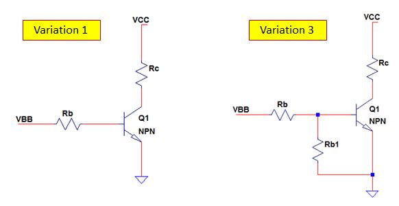 NPN transistor switch