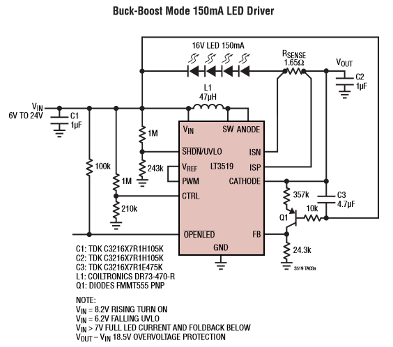 LED Driver Circuit Explained and Available Solutions ...