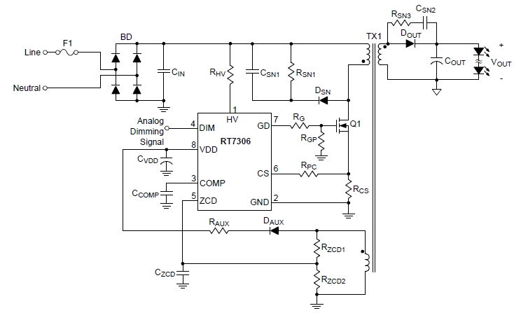 circuit diagram led bulb led driver circuit explained and available solutions  led driver circuit explained and