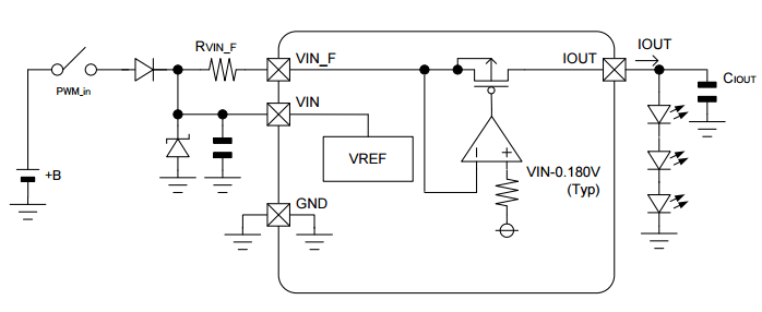 automotive LED driver circuit design