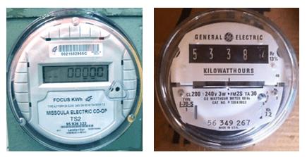 digital electric meters