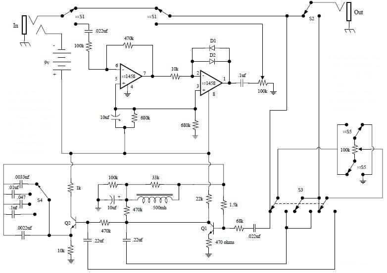 electro harmonix soul preacher electronic schematic diagram