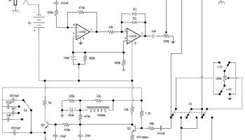Univox Super-Fuzz Pedal | Electronic Schematic Diagram on