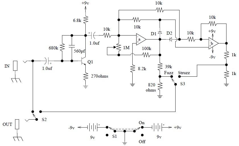 Univox Super Fuzz Schematic - Wiring Diagrams Delete on proco rat schematic, super octave schematic, univox amp head,