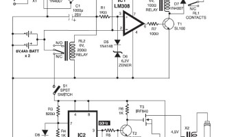 25W Low Power Inverter | Electronic Schematic Diagram Emergency Lighting Circuit Diagram on