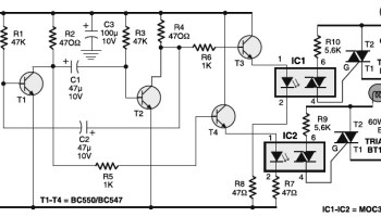 Surprising Traffic Baton With Bulb Or Led Flasher Electronic Schematic Diagram Wiring Digital Resources Spoatbouhousnl
