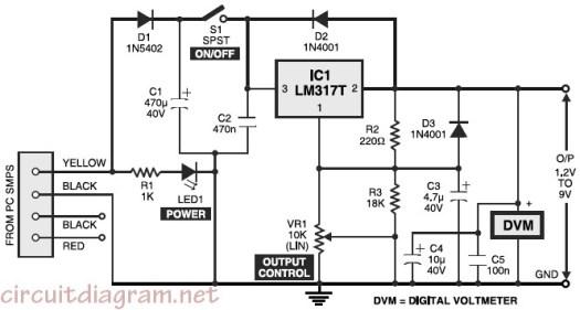 Dc Power Supply Circuit Diagram Pdf – Periodic & Diagrams Science