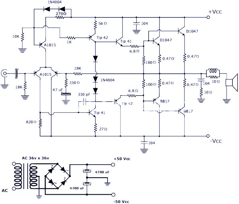 Power Amplifier 2000 Watt Circuit Diagrams - Wiring Diagram G9