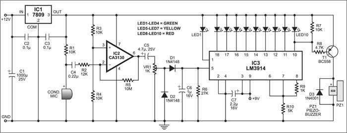 Detailed Circuit Diagram Available