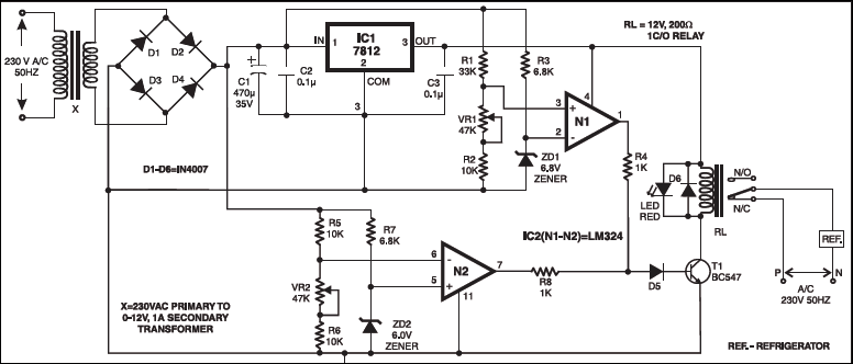 Under/Over-Voltage Protection Of Electrical Appliances