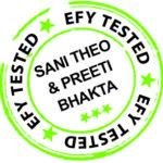 efy tested sani theo and preeti bhakta