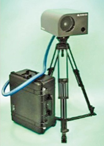 P.Eye Raman explosives detector