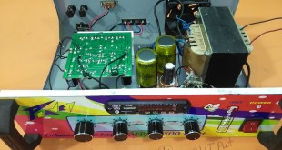 How to make an amplifier 500 Watts.