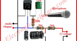 microphone circuit diagram