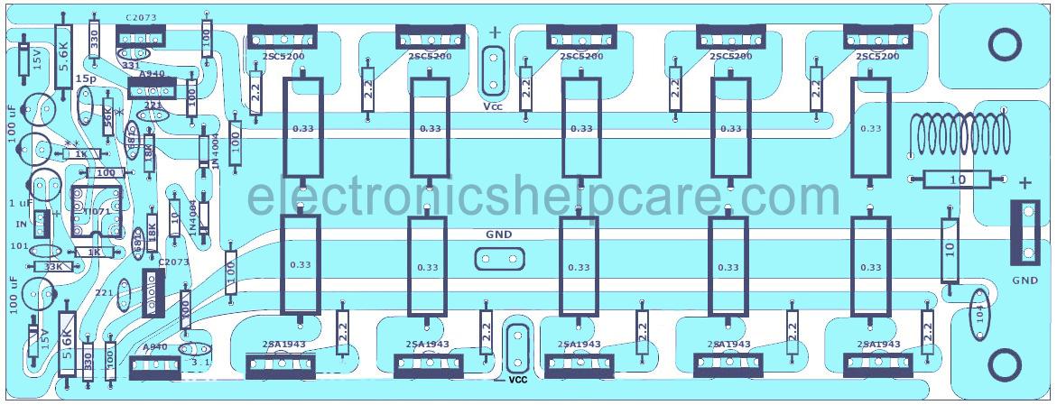 1000 Watts Amplifier Circuit Diagrams - Wiring Diagram Sys