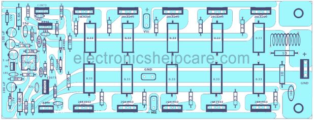 1000 Watts amplifier circuit diagram pdf