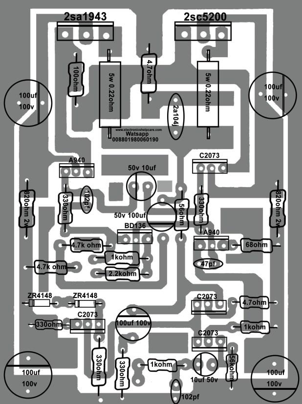 How to make transistor amplifier using 2 transostor? electronics