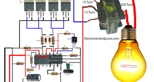 how to make an inverter using 12v to 220v. electronics