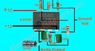 Transistor circuit diagram of 2sc5200 and 2sa1943 ...