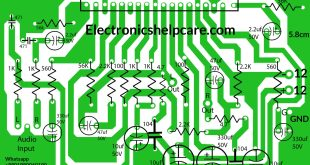 stk amplifier circuit diagram stk4101