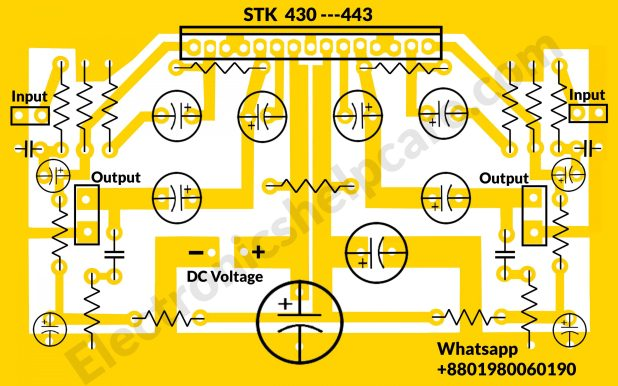 STK430-443 circuit diagram