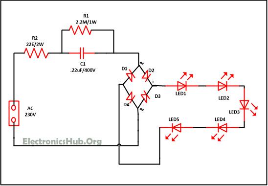 Diploma: Mains Operated LED Light Circuit