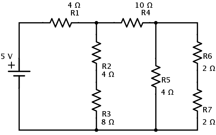 Resistors In Series And Parallel Combination Of Networks