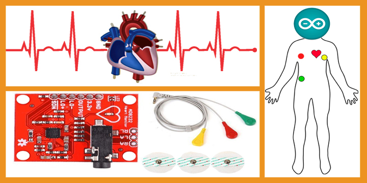 Low cost AD8232 based ECG & Heart monitoring system using Arduino