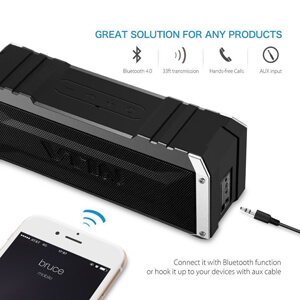 Vtin 20 Watt Waterproof Bluetooth Speaker 2