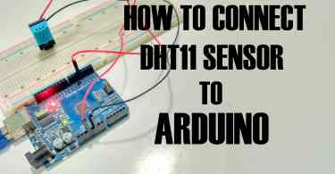 connect dht11 with arduino