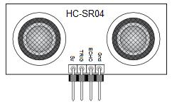 HCSR 04 Sensor Pinout