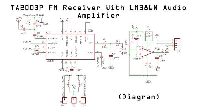 how to make fm radio circuit - electronics projects hub f m receiver circuit diagram free fm receiver ic electronics projects hub