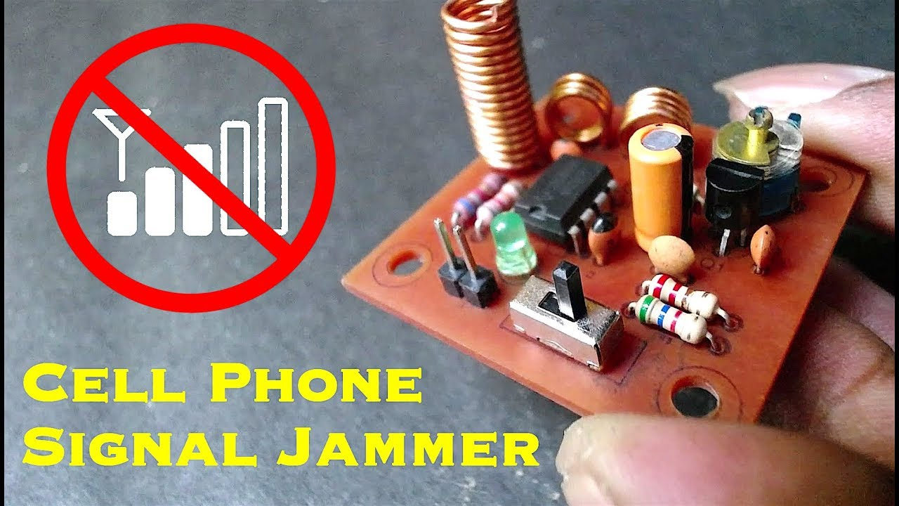 how to make cell phone signal jammer electronics projects hub