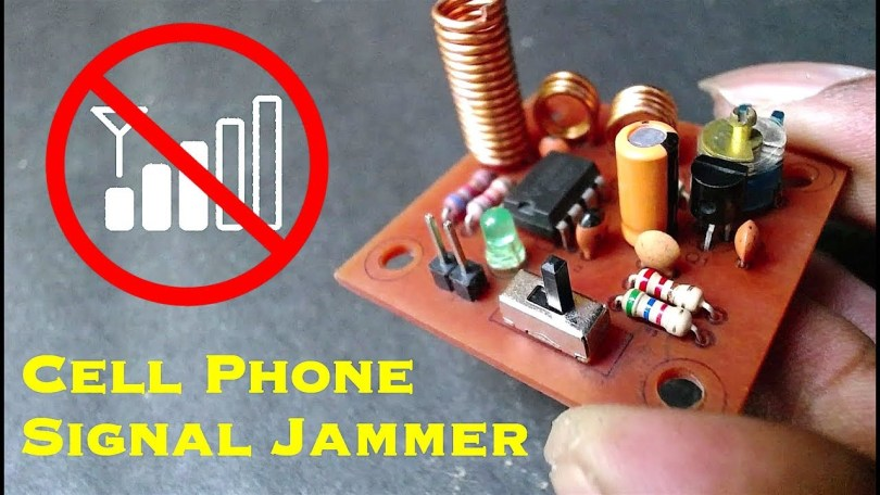 Circuit Diagram Of Mobile Jammer | How To Make Cell Phone Signal Jammer Electronics Projects Hub